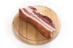Fresh bacon Stock Photography