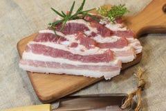 Fresh bacon Royalty Free Stock Photos