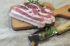 Fresh bacon Royalty Free Stock Photography