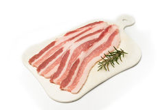 Fresh bacon Royalty Free Stock Photo