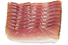 Fresh bacon strips Royalty Free Stock Photography