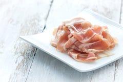 Fresh bacon Stock Photography