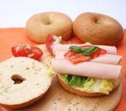 A fresh bagel Royalty Free Stock Image