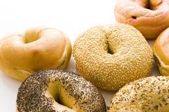 Fresh bagels Stock Photo