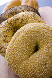 Fresh bagels Royalty Free Stock Photos