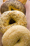 Fresh bagels Royalty Free Stock Photography