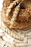 Fresh Bagels Royalty Free Stock Images