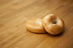 Fresh Bagels Royalty Free Stock Photos