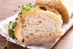 Fresh Baguette Royalty Free Stock Images