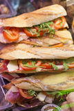Fresh baguette take-aways Stock Photography