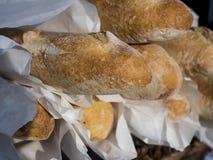 Fresh baguettes Stock Images