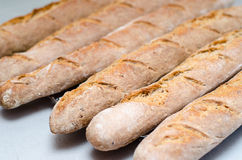 Fresh baguettes Royalty Free Stock Images