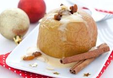 Fresh Baked Apple Royalty Free Stock Photography