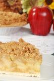 Fresh baked apple crisp pie Stock Images