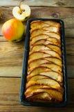 Fresh baked apple pie Stock Photos