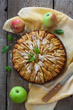 Fresh baked apple pie Royalty Free Stock Images