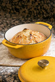 Fresh baked artisan bread Stock Images