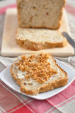 Fresh baked bread. Fresh baked and sliced bread Stock Images