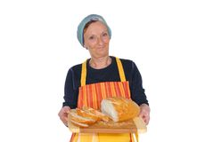 Fresh baked  bread. Royalty Free Stock Image