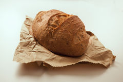 Fresh baked bread. Freshly baked loaf of county bread Royalty Free Stock Photo