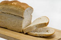 Fresh baked Bread, loaf Stock Images