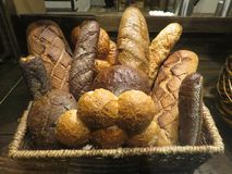 Fresh Baked Bread Ready to Take Home royalty free stock image