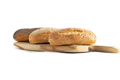 Fresh baked breads Stock Photos