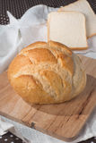 Fresh baked bun and bread Royalty Free Stock Images
