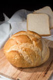 Fresh baked bun and bread Royalty Free Stock Image
