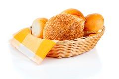 Fresh baked buns Stock Image