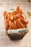 Fresh baked buns Royalty Free Stock Photo
