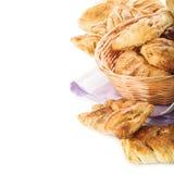 Fresh baked buns Royalty Free Stock Image
