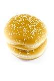 Fresh Baked Burger Bread Roll Stock Image