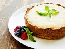 Fresh baked cheesecake Stock Photography