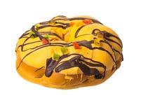 Fresh baked christmas cake Royalty Free Stock Image