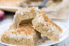 Fresh baked Coconut Cake Stock Images