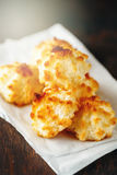 Fresh Baked Coconut Light Cookies Stock Image