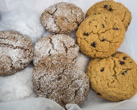 Fresh Baked Cookies Royalty Free Stock Images