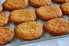 Fresh baked cookies Stock Photo