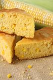 Fresh Baked Corn Bread Royalty Free Stock Image