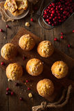 Fresh Baked Cranberry Muffins Royalty Free Stock Image