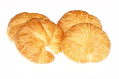 Fresh baked croissant Stock Images