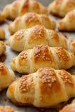 Fresh Baked Croissant Homemade Stock Photography