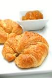 Fresh baked croissant Royalty Free Stock Photos