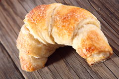 Fresh baked croissant Stock Photos