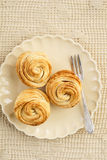 Fresh baked cruffins Royalty Free Stock Images