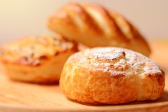 Fresh baked goods Stock Photography