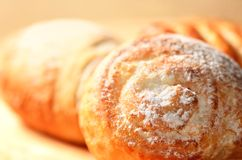 Fresh baked goods Royalty Free Stock Images