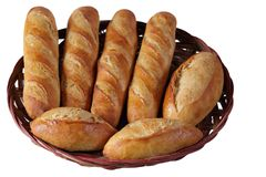 Homemade Baguettes Royalty Free Stock Photo