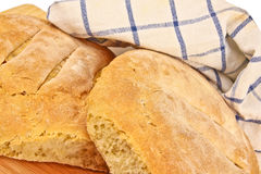 Fresh baked home made bread Royalty Free Stock Images